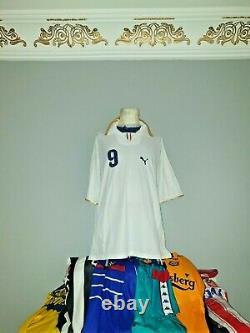 #9 Toni 2006 2008 Fiorentina Juventus Palermo Verona Home Shirt Maglia Away =xxl