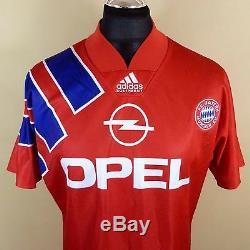 ADIDAS 1991 1993 Bayern Munich Munchen Home football shirt jersey size M