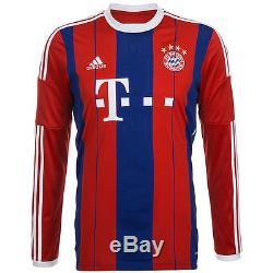 Adidas Bayern Munich Long Sleeve Home Jersey 2014/15