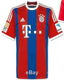 Adidas Thomas Muller Bayern Munich Home Jersey 2014/15 Fifa Cwc 2013 Patch