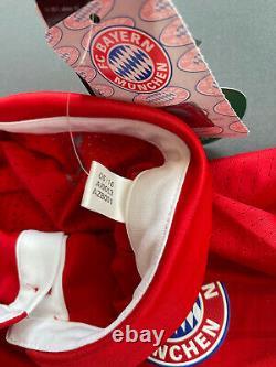 AI0053 Bayern Munich Jersey 2016/17 Home Player Issue Sz 6 Soccer Trikot Adidas