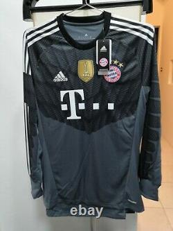 AUTHENTIC Bayern Munich GK HOME Jersey 14/15 size M NEW with Tag