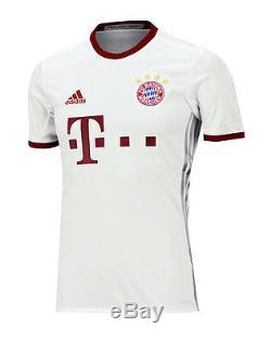 Adidas 16-17 FC Bayern Munich UCL Team Jersey AZ4663 S/S Shirts Soccer Football