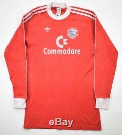 Adidas 1984-89 BAYERN MUNCHEN LONGSLEEVE KOSZULKA L Shirt Jersey Kit