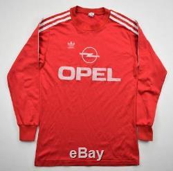 Adidas 1989-91 BAYERN MUNCHEN LONGSLEEVE SHIRT S Shirt Jersey Kit