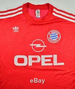 Adidas 1989-91 BAYERN MUNCHEN SHIRT S Shirt Jersey Kit