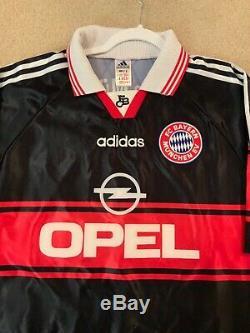 Adidas 1997-1999 Bayern Munich Home Jersey #10 Matthäus Sz M Excellent