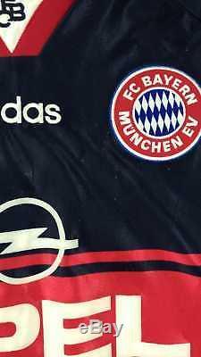 Adidas 1997-99 BAYERN MUNCHEN SCHOLL koszulka L Shirt Jersey Kit