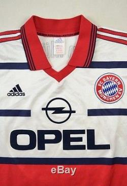 Adidas 1998-00 BAYERN MUNCHEN EFFENBERG koszulka XXL Shirt Jersey Kit