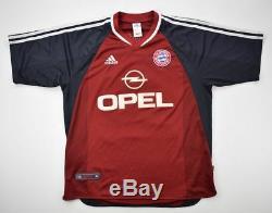 Adidas 2001-02 BAYERN MUNCHEN SALIHAMIDZIC SHIRT L Shirt Jersey Kit