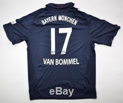 Adidas 2008-09 BAYERN MUNCHEN VAN BOMMEL SHIRT XL Shirt Jersey Kit