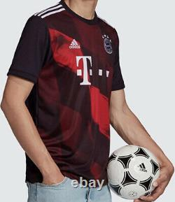 Adidas 2020/2021 FC Bayern Munchen Football Soccer 3RD Jersey XL FN1949