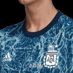 Adidas Argentina 2021 Copa America Elite Training Soccer Jersey Indigo Blue