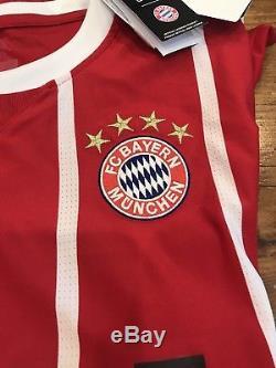 Adidas Authentic Bayern Munich Soccer Futbol Jersey Mens Size XXL