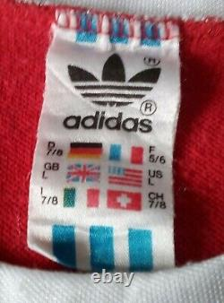 Adidas Bayern München 1980-82 Vintage Shirt Jersey Size L