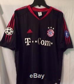 Adidas Bayern Munchen FC 2004 Guerrero Football Shirt Jersey size XL Germany