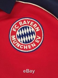 Adidas Bayern Munchen Munich 2000 2001 Jeremies Football Shirt Soccer Jersey