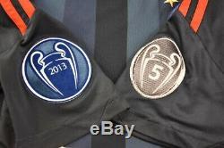 Adidas Bayern München Munich 2013-2014 Away Shirt FUSSBALL Trikot ROBBEN SIZE M