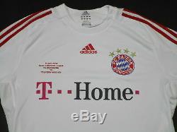 Adidas Bayern München Trikot Jersey Camiseta Maglia Maillot T-Shirt 08/09 CL XL
