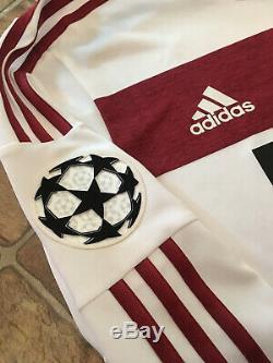 Adidas Bayern Munich 14/15 Away Adizero Player Issue Jersey Size 7 (M/L)