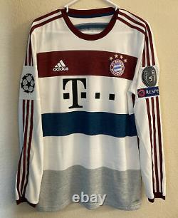 Adidas Bayern Munich 14/15 Away Adizero Player Issue Soccer Jersey