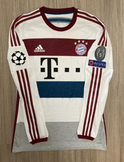 Adidas Bayern Munich 14/15 Away Adizero Player Issue Soccer Jersey Mens Size 7