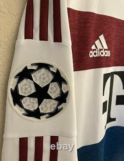 Adidas Bayern Munich 14/15 Away Adizero Player Issue Soccer Jersey Size 7