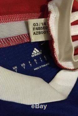 Adidas Bayern Munich 14/15 LS Home Jersey Match Issue Adizero Size 7