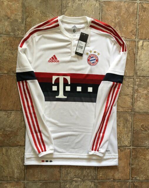 Adidas Bayern Munich 15/16 Away Long Sleeve Player Issue Adizero