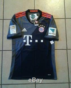 Adidas Bayern Munich 16/17 Away Adizero jersey Size M Lewandowski 9