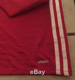 Adidas Bayern Munich 16/17 LS Home Jersey Match Issue Adizero Size 6 (M)