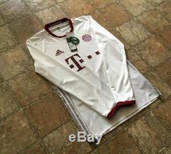Adidas Bayern Munich 16/17 Third Long Sleeve Player Issue Adizero Jersey