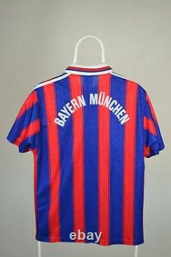 Adidas Bayern Munich 1996 1997 home football shirt jersey S SMALL VINTAGE