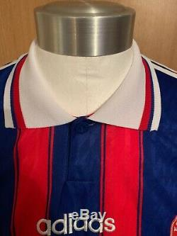 Adidas Bayern Munich 1996 Home Football Shirt Jersey Maillot Size XL Matthaus