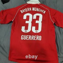 Adidas Bayern Munich 2005 2006 Paolo Guerrero Mens L Soccer Jersey Trikot