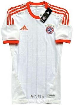 Adidas Bayern Munich 2012/13 Player Issue Techfit Away Jersey. NWT, Size S