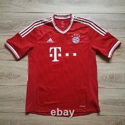Adidas Bayern Munich 2013/14 #27 Alaba signed autograph soccer football jersey