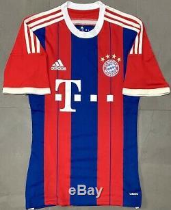 Adidas Bayern Munich 2014/15 Adizero Player Issue Home Jersey. Size S, Exc Cond