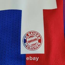 Adidas Bayern Munich 2014 2015 Claudio Pizarro Mens L soccer Jersey Trikot