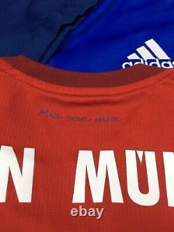 Adidas Bayern Munich 2015-16 Lewandowski 9 Jersey Men's S S14294