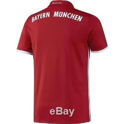 Adidas Bayern Munich 2016 2017 Home Soccer Jersey Brand New Red / White