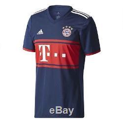Adidas Bayern Munich 2017 2018 Away Soccer Jersey Brand New
