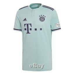 Adidas Bayern Munich 2018 2019 Away Soccer Jersey Brand New Mint