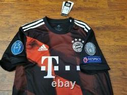 Adidas Bayern Munich 2021 3rd Champions Lewandowski Original Soccer Jersey Shirt