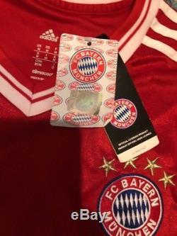 Adidas Bayern Munich Arjen Robben Jersey Home Kit New W Tags Mens Med 2013-2014