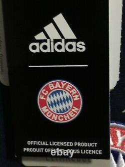 Adidas Bayern Munich Away 2017-18 Navy Red White Jersey Size S Mens Only