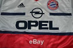 Adidas Bayern Munich Away Shirt #9 Basler 1998 Football Jersey New Deadstock