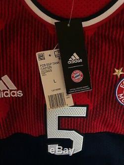Adidas Bayern Munich Basketball Soccer Tank Top Jersey NWT Size L Men