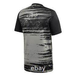 Adidas Bayern Munich FC 2020 2021 Elite Training Soccer Jersey Gray Black Red
