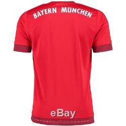 Adidas Bayern Munich FC Red 2015/16 Home climacool Jersey